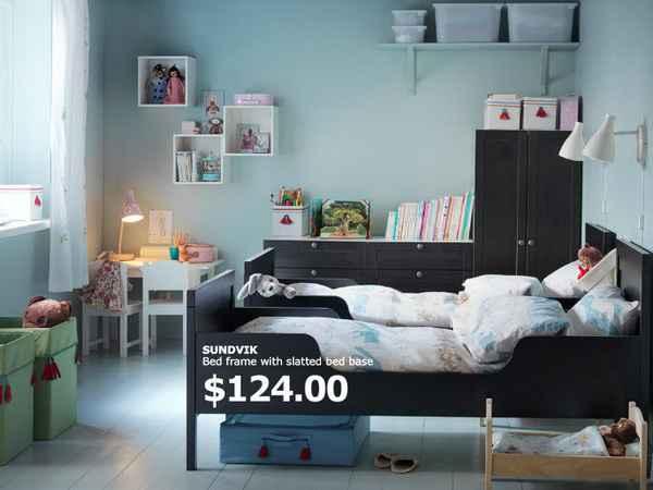 غرف نوم اكيا IKEA للاطفال بالصور والاسعار