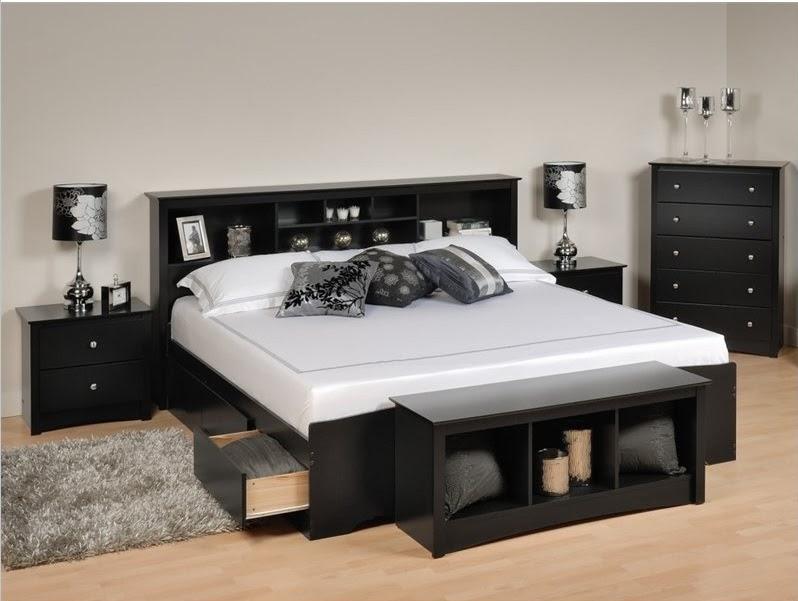 غرف نوم مودرن جديدة باللون الأسود بدرجاته picture_1497240689_399.jpg