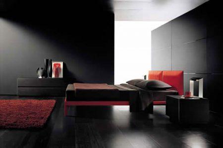 غرف نوم مودرن جديدة باللون الأسود بدرجاته picture_1497240690_329.jpg