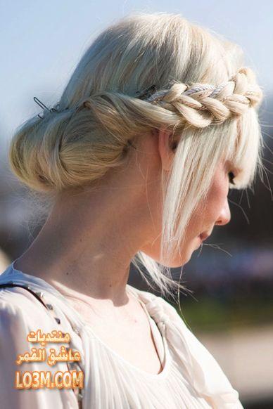 تسريحات شعر مميزة للبنات بسيطة وسهلة lo3m1429385373_412.jpg