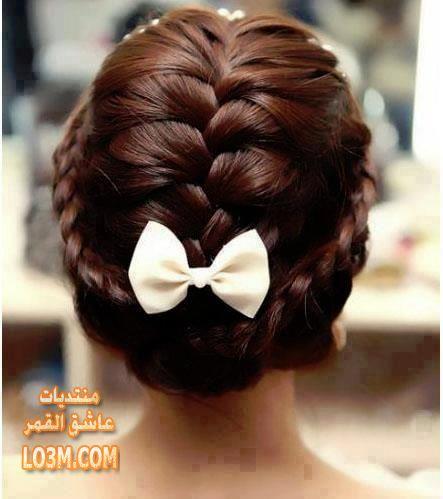 تسريحات شعر مميزة للبنات بسيطة وسهلة lo3m1429385373_521.jpg